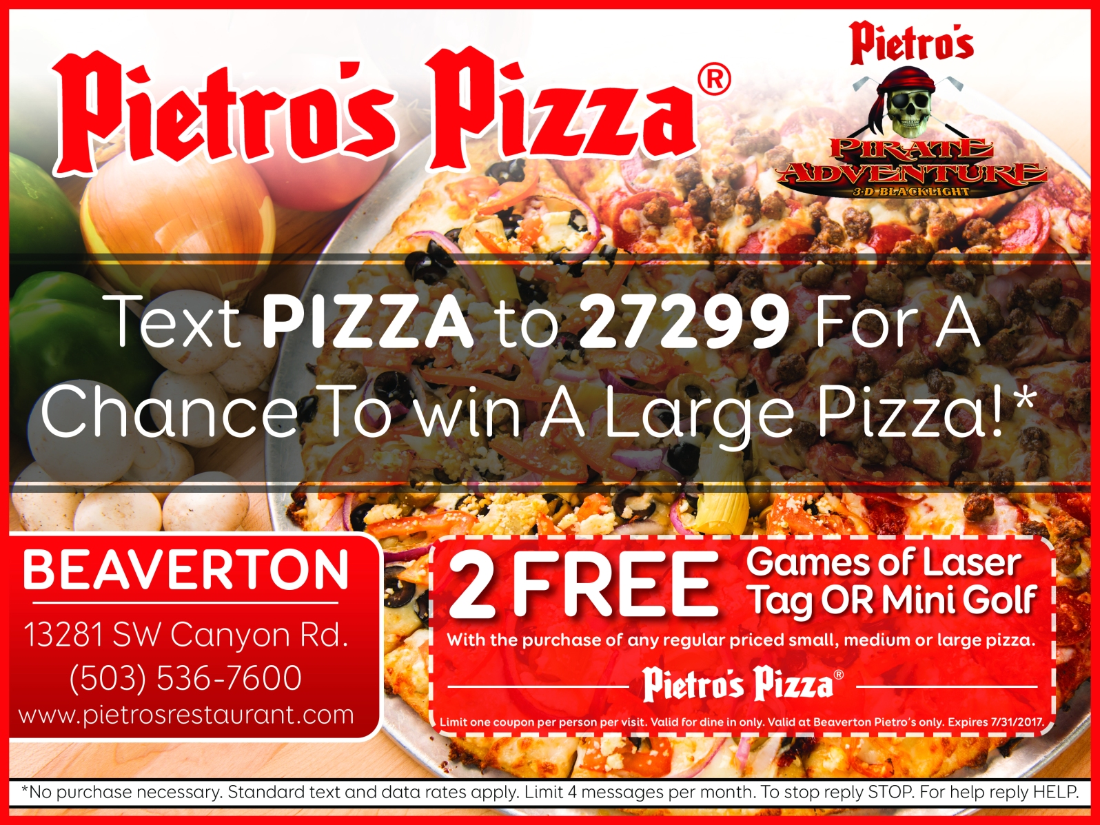 http://www.pietrosrestaurants.com/locations/beaverton/